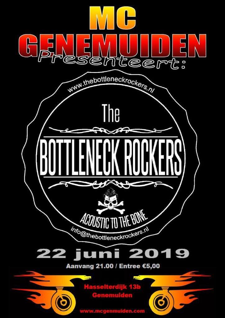Bandavond 22 jun (The Bottleneck Rockers)